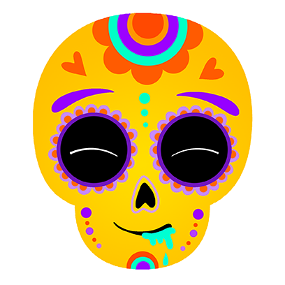 The Day Of The Dead Stickers messages sticker-1