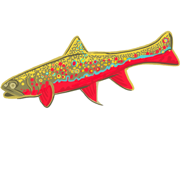 Trout Trout Trout messages sticker-1