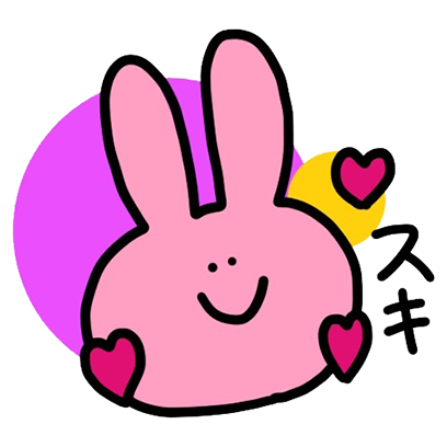 naughty usakun!! messages sticker-4