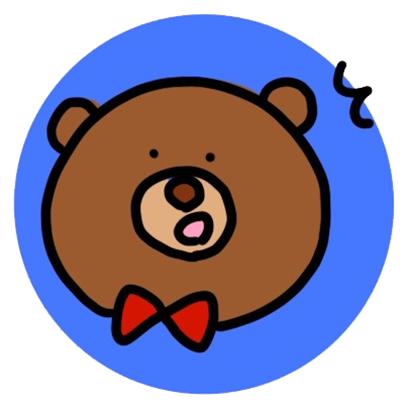 easygoing kumakun messages sticker-7