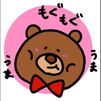easygoing kumakun messages sticker-6