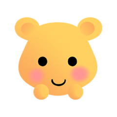 可爱熊 messages sticker-4