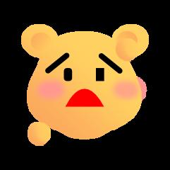 可爱熊 messages sticker-5