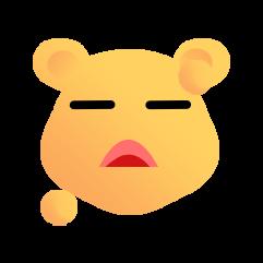 可爱熊 messages sticker-11