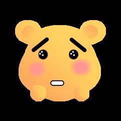可爱熊 messages sticker-9