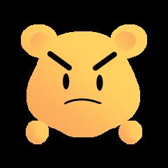 可爱熊 messages sticker-10