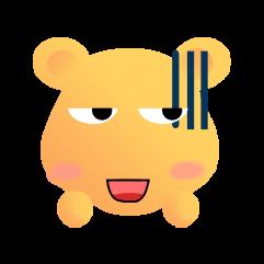 可爱熊 messages sticker-3