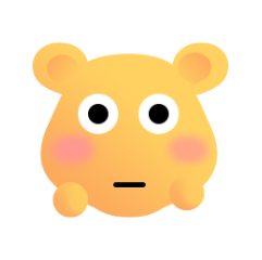 可爱熊 messages sticker-1