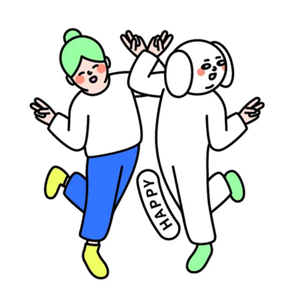 白皮与绿豆 messages sticker-6