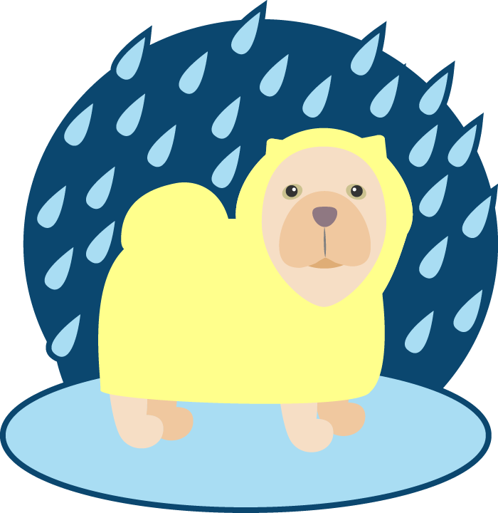 Peach the Chow Chow Stickers messages sticker-8