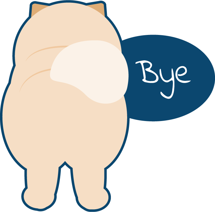 Peach the Chow Chow Stickers messages sticker-3