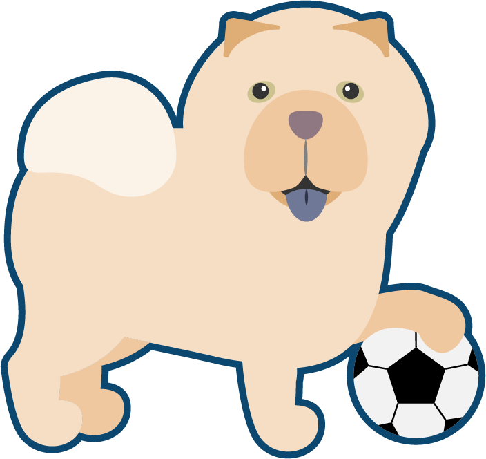 Peach the Chow Chow Stickers messages sticker-11