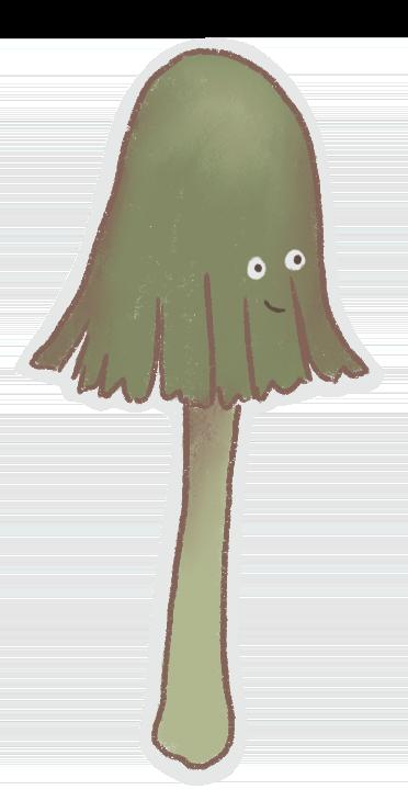 Mushrooms Stickers messages sticker-7
