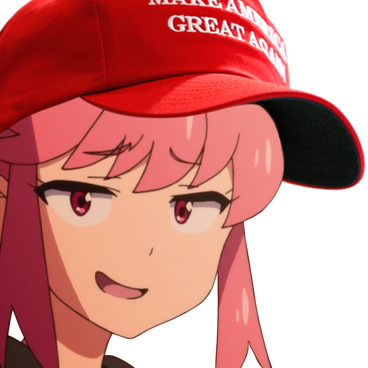 Make Anime Great Again messages sticker-2