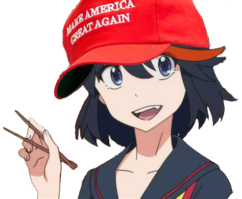 Make Anime Great Again messages sticker-8