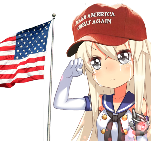 Make Anime Great Again messages sticker-9