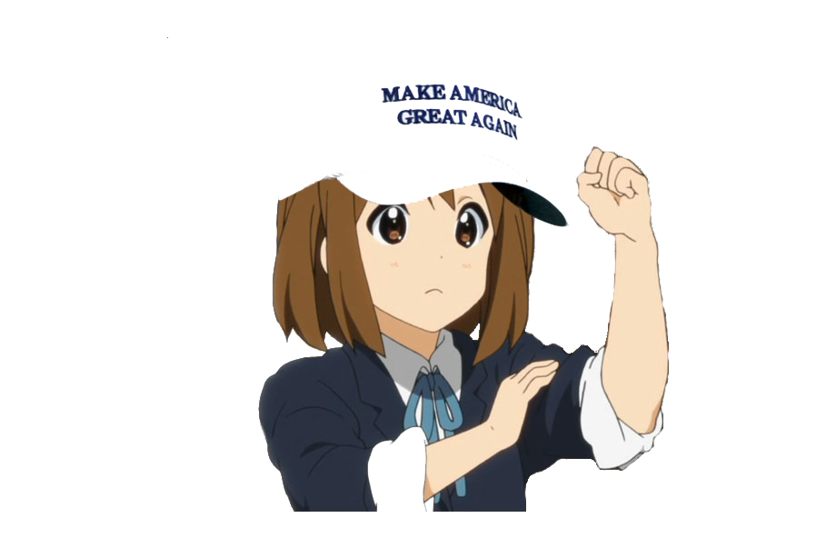 Make Anime Great Again messages sticker-10