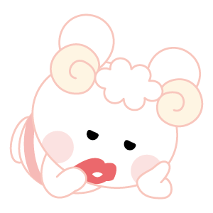 Cutie Angy messages sticker-1