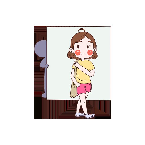 居家女生日常 messages sticker-9