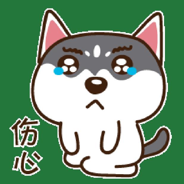 哈鲁是二哈 messages sticker-4
