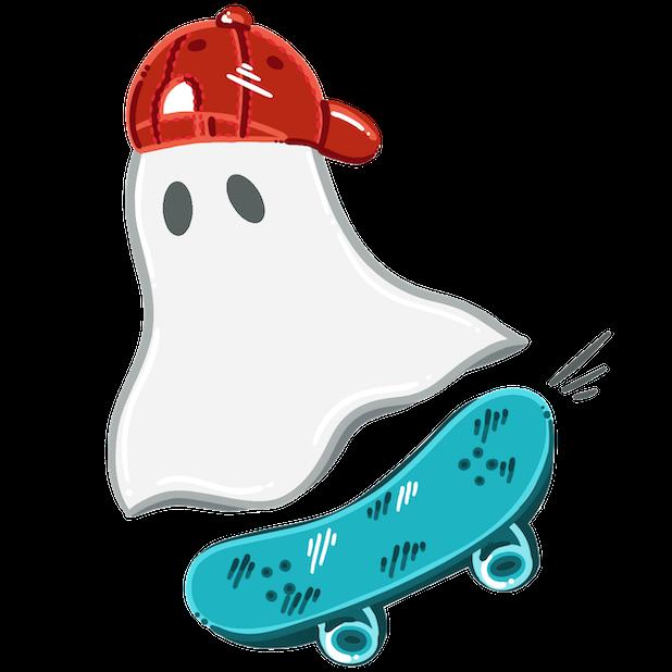 Natalie Arts - Halloween Pack messages sticker-4