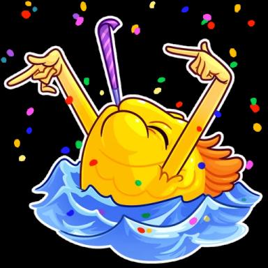 FunnyFish-Emoij messages sticker-1