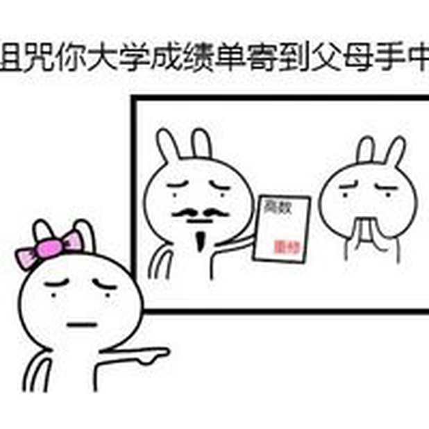 鸽奥与兔 messages sticker-2
