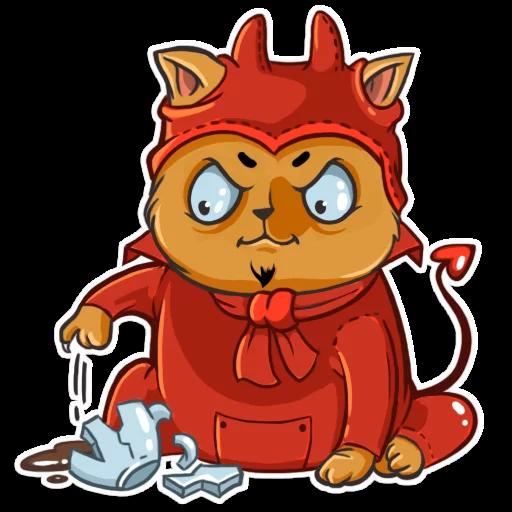 CatCat-Emoij messages sticker-3