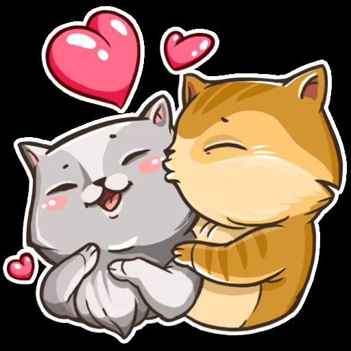 CatCat-Emoij messages sticker-11