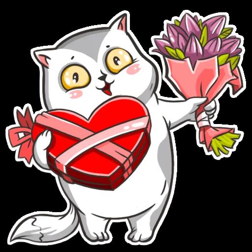 CatCat-Emoij messages sticker-4