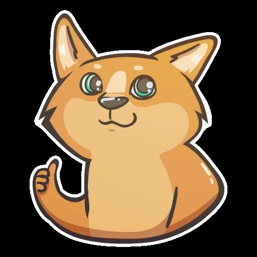 DogeJoaan-Emoij messages sticker-3