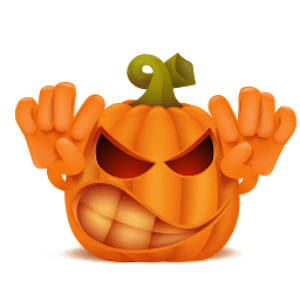 New Halloween Stickers Pack messages sticker-1