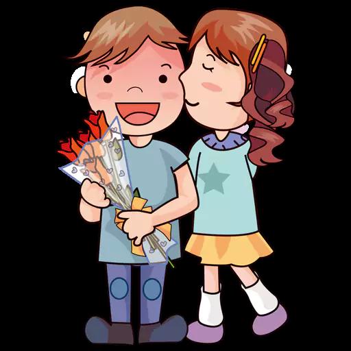 Kisses-Emoji messages sticker-4