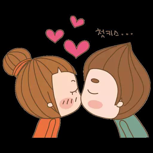 Kisses-Emoji messages sticker-1