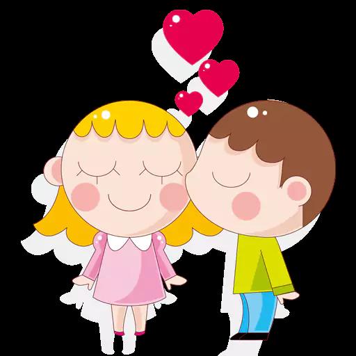 Kisses-Emoji messages sticker-11