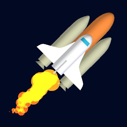 Tricky Rocket - Space Flight messages sticker-6