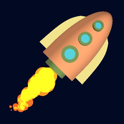Tricky Rocket - Space Flight messages sticker-4