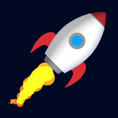 Tricky Rocket - Space Flight messages sticker-0