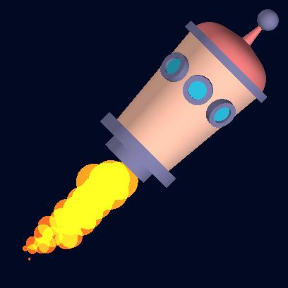 Tricky Rocket - Space Flight messages sticker-5