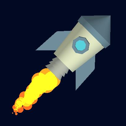 Tricky Rocket - Space Flight messages sticker-2