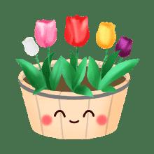 SpringSticker-Emoij messages sticker-8