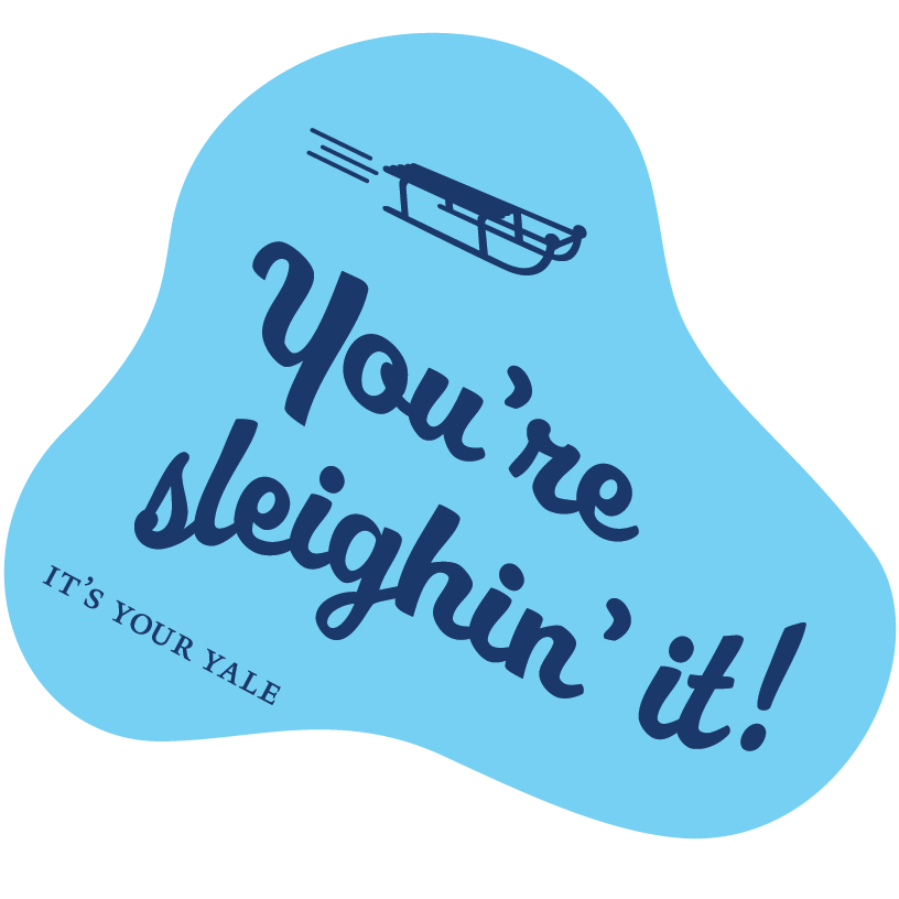 It's Your Yale Chat Stickers messages sticker-1