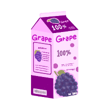 GrapePurple-Emoij messages sticker-11
