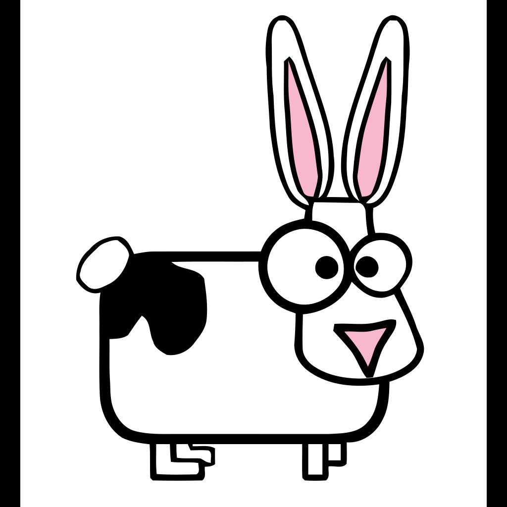兔子贴纸 messages sticker-0