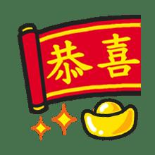 新年快樂-貼紙 messages sticker-10