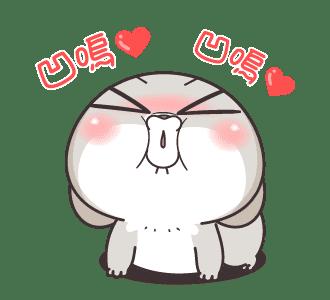浮誇兔 messages sticker-2