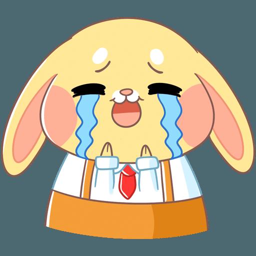 Fluffy Bun messages sticker-7