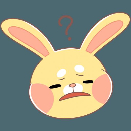 Fluffy Bun messages sticker-9