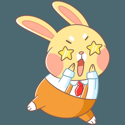 Fluffy Bun messages sticker-10