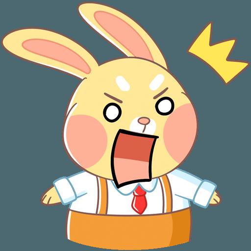 Fluffy Bun messages sticker-3